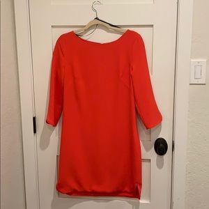 Red cocktail dress. Size 8